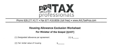 AVL Tax Professionals - Asheville's Tax Experts - Forms